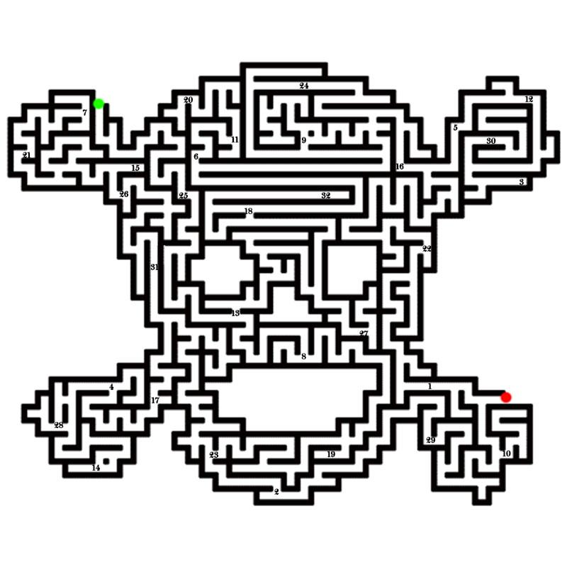 skull-maze